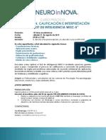 Curso Practico WISC-5 Aplicacion Calificacion e Interpretacion
