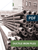 Iron piles