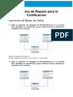 Práctica de Preparación Para Certificación