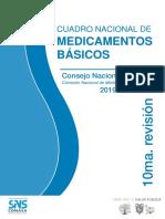 CUADRO NACIONAL DE MEDICAMENTOS BÁSICOS 10ma edición.pdf