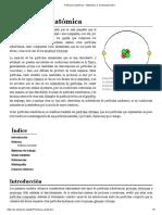 Partícula Subatómica - Wikipedia, La Enciclopedia Libre