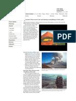 Peligro Volcanico Flujos Piroclásticos
