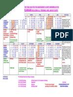 Calendar 2019 Ts