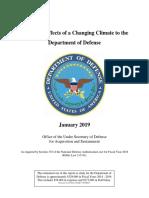 Pentagon Climate Report 01 19