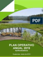 Plan Operativo Anual 2019. INAB.