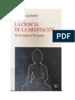 Meditación y Ciencia