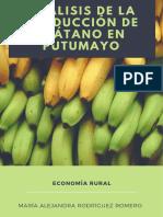 Análisis de La Producción de Plátano en Putumayo