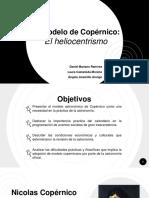 Diapositivas El Heliocentrismo