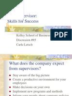 New Supervisor Skills for Success