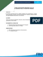 Lineamiento de Evaluación, Inducción y Alta de Conductores T1 Terceros