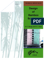 Design of Bamboo Scaffolds