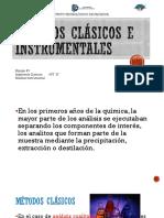 Métodos Clásicos e Instrumentales