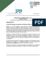 Encuentro Academico Regional REDIS Sur Oriente 2019