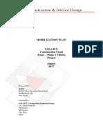 Mobilization Plan V