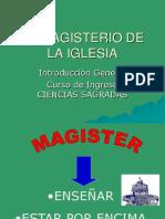 Tipos de Documentos Del Magisterio