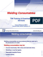 16. Welding Consumables