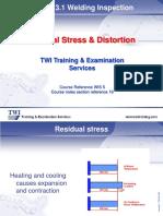 19. Residual Stress