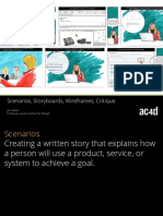 AC4D Designlibrary Scenarios Usecases Wireframes Critique