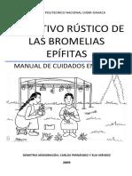El Cultivo Rustico de Las Bromelias Epifitas