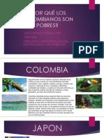 Por Qué Los Colombianos Son Pobres
