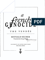 A french genocide. The Vendée - Reynald Secher