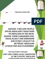 Bikolano Literature