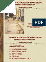 Curso de actualización y Postgrado