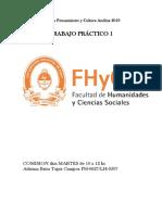 Cátedra Pensamiento y Cultura Andina 2019