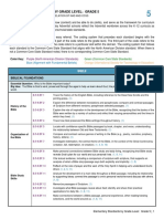 5-Elementary Standards by Grade Level, Grade 5