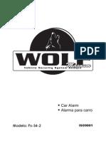 Alarma Wolf Magnum Alarma PxS4-2
