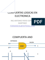 Compuertas Logicas en Electronica