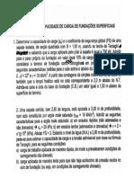 FD - Exercício Capacidade de Carga