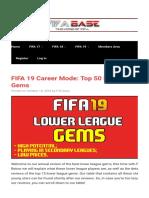 FIFA 19 gems