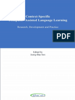 Jeong-Bae Son - Context-Specific Computer-Assisted Language Learning_ Research, Development and Practice