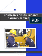 NORMATIVA DE SEGURIDAD Y SALUD OCUPACIONAL II