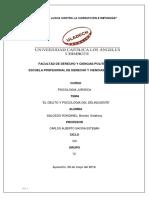 Psicologia Del Delincuente-PS Juridica-2019
