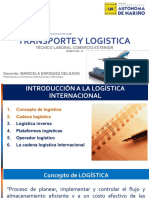 Transporte y Logistica Internacional Corte 1
