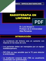 Radioterapia en Linfomas