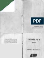 Cherokee 140 Owner's Handbook