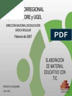Elaboracion de Material Educativo Con TIC