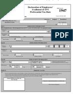 WT- RR 11-2010 Annex A Application Form 1947 Declaratin of Employees Availmentx.pdf