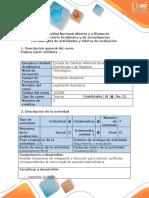 Guía de Actividades y Rúbrica de Evaluación - Fase 2 - Conceptualización de La Normatividad Asociativa