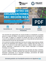 Flyer Encuentro SBC NEA