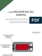 Microcontrolador Ekc 201 Danfoss