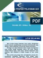 5. Evaluasi Audit Mutu Profesi Gizi