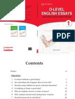 O-Level English Essays 1.pdf