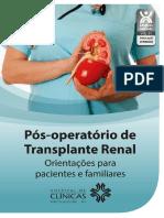 Pós-operatório de Transplante Renal