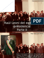 Edgar Raúl Leoni Moreno - Raúl Leoni