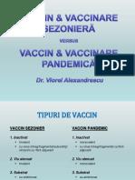 Vaccinare sezoniera