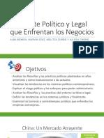 Ambiente Politico y Legal Que Enfrentan